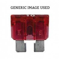 Durite - Fuse Blade Type Red 10 amp Pk10 - 0-375-10