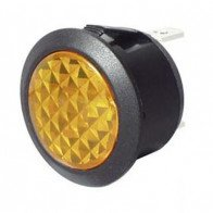 Durite - Warning Light Amber LED 12/24 volt Bg1 - 0-607-40