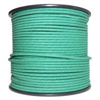 1M Cotton Braided Automotive Electrical Wire Cable 18 Gauge Green