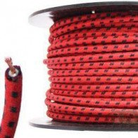 7mm HT Ignition Lead Cable - Wire Core Cotton Braided RBF