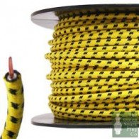 7mm HT Ignition Lead Cable - Wire Core Cotton Braided YBF