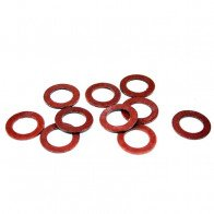 GS73116 - Universal Pack of 10 fibre washers for 1/4'' gas fuel taps (BSP).