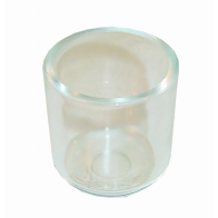 1x Malpassi Glass Filter Bowl for FPR006/7 & FPRV8 Filter Kings (RA006)