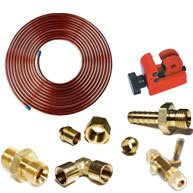 Copper Pipe, Hose & Connectors