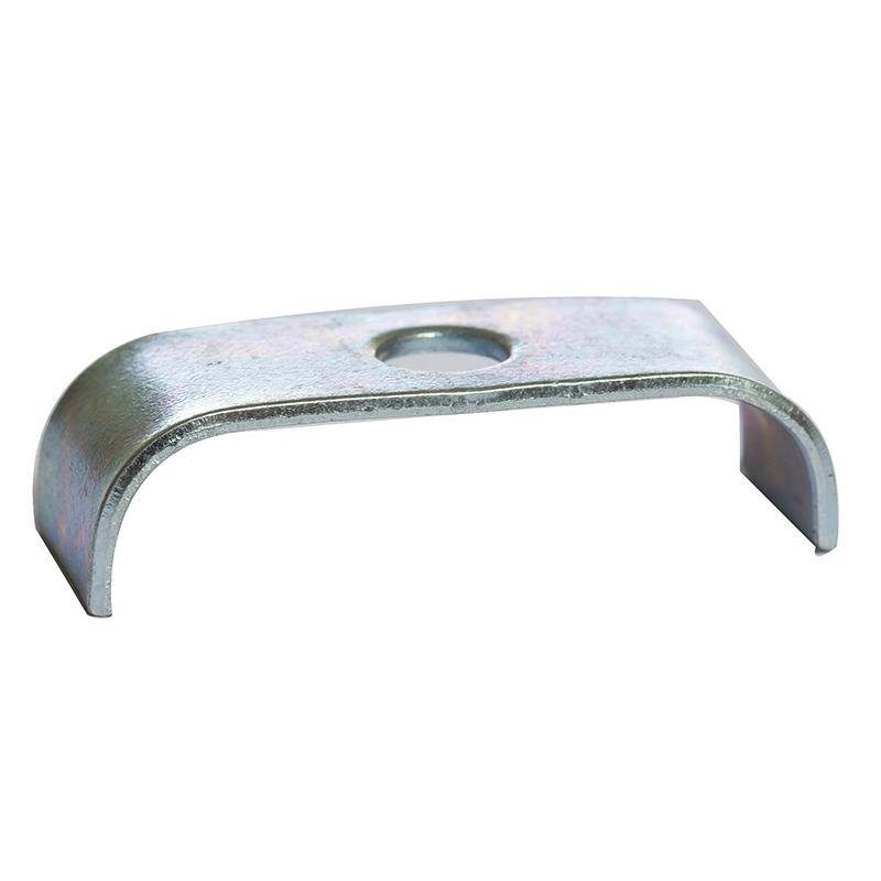 10mm Mild Steel with Zinc Plated CR3 Finish Twin SADDLE CLAMP PACK OF 10