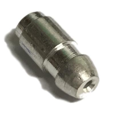 Image of 10x Bullet terminals connectors brass Crimp Solder 4.7mm Dia - 0.65 mm² wire