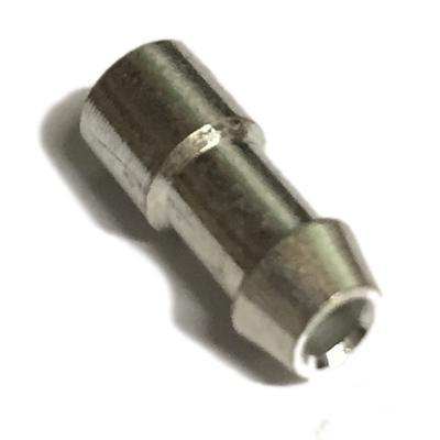 Image of 10x Bullet terminals connectors brass Crimp Solder 4.7mm Dia - 2.0 mm² wire