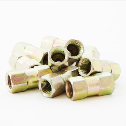 10 x Female Brake Pipe Connector Tube Line Joiner Union 10mm x 1mm 3/16