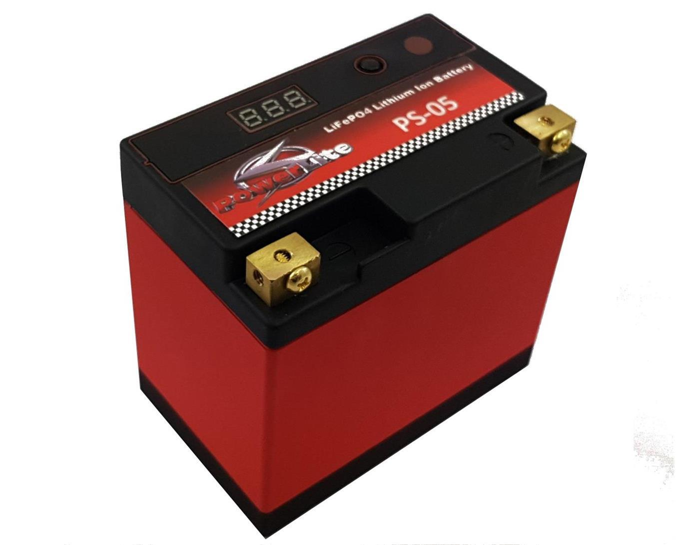 Lithium Car Battery >> Ps 05 Powerlite Lifepo4 Lithium Ion Car Battery 12 8v 5ah 160 Cold Cranking Amps