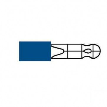 Durite 0-001-14 Terminal Blue 4.70mm Bullet Pack of 10