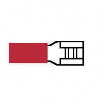 Durite 0-001-34 Terminal Red 4.80mm Push-on Pack of 10