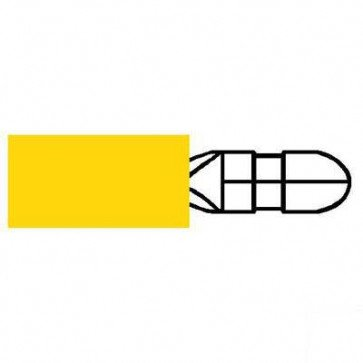 Durite 0-001-37 Terminal Yellow 5.00mm Bullet Pack of 10