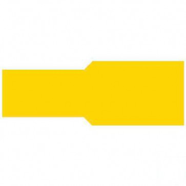 Durite 0-001-47 Terminal Yellow 9.50mm Push-on Pack of 10