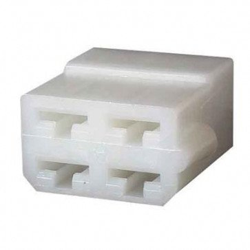 Durite - Multiple Connector Female Housing 4 Way Pk5 - 0-011-15