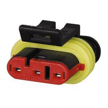 Durite - Superseal Connector 1.50mm Female 3 way Bg1 - 0-011-63