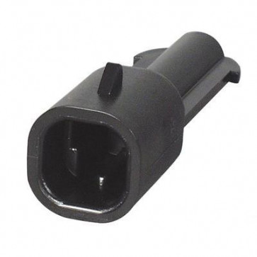 Durite - Superseal Connector 2.80mm Male 1 way Bg1 - 0-011-71