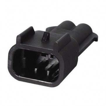 Durite - Superseal Connector 2.80mm Male 2 way Bg1 - 0-011-72