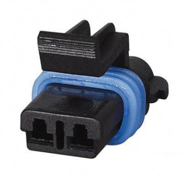 Durite - Superseal Connector 2.80mm Female 2 way Bg1 - 0-011-82