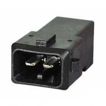 Durite - Junior Timer Connector Male 2 way Bg1 - 0-012-61