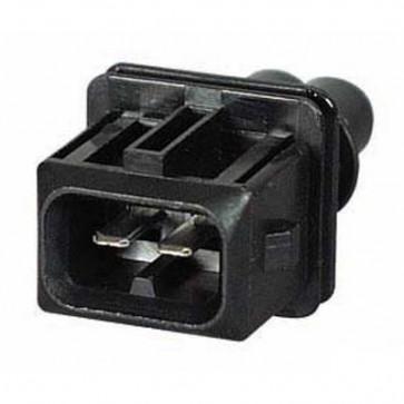 Durite - Junior Power Timer Connector Male 2 way Bg1 - 0-012-62