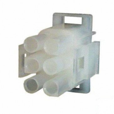 Durite - Connector Mate-N-Lock Male Housing 6 way Pk5 - 0-013-04