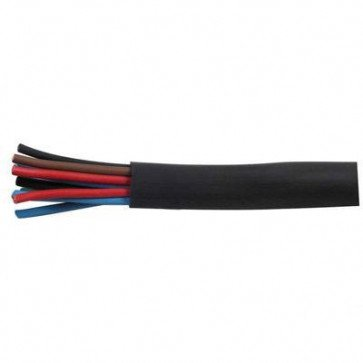 1 Metre Durite - Sleeving Black PVC 6.0mm - 0-332-06