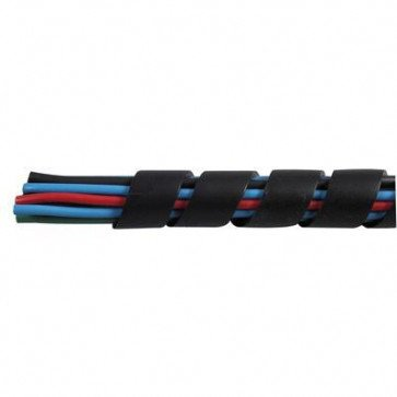 1 Metre Durite - Spiral Cable Binding 12.7mm Black Nylon - 0-332-62