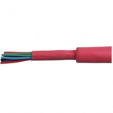 1 Metre Durite - Heatshrink Sleeving 6.4mm Red Polyolefin - 0-333-56