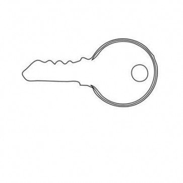 Durite - Key Replacement for Ignitin and Light Switch - 0-351-13