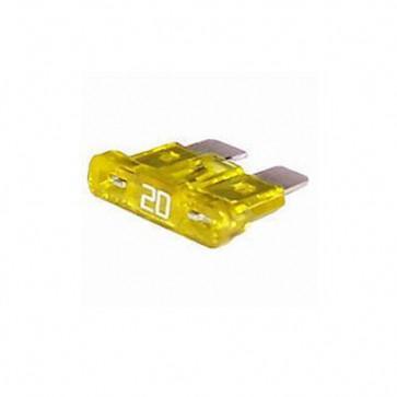 Durite - Fuse Blade Type Yellow 20 amp Pk10 - 0-375-20
