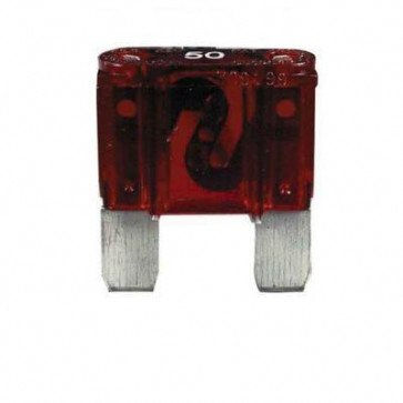 Durite - Fuse Maxi Blade Type Red 50 Amp Pk2 - 0-377-50