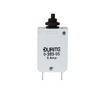 Durite - Circuit breaker 12/24 volt 5 amp Bg1 - 0-383-05