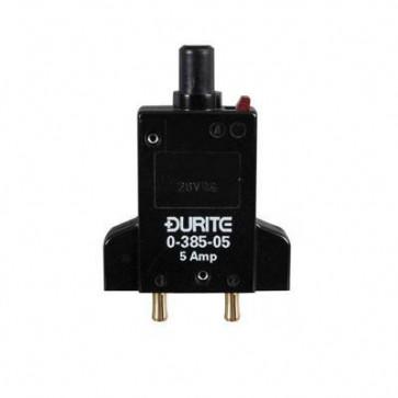 Durite - Circuit breaker 12/24 volt 5 amp Bg1 - 0-385-05