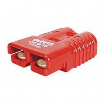 Durite - Connector 2 Pole High Current Red 50 amp Bg1 - 0-432-05