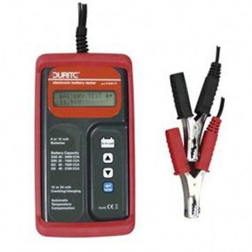 Durite - Battery Tester 6/12volt with Start/Charge Analyzer 12/24volt Cd1 - 0-524-71
