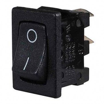 Durite - Switch Rocker On/Off Black Cd1 - 0-530-01