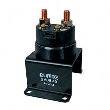Durite - Battery Switch 300 amp 24 volt Remote Single Pole Bx1 - 0-605-43