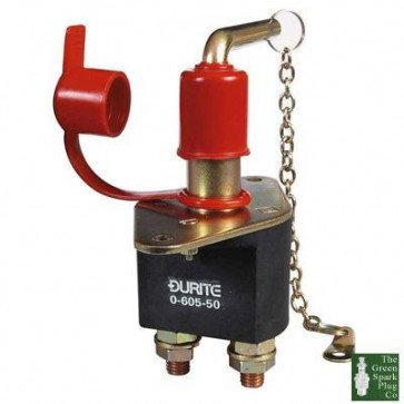 Heavy Duty Battery Isolator Switch With Removable Key - 250 Amps @ 24V