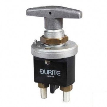 Heavy Duty Battery Isolator Switch Fixed On-Off - 250 Amps @ 24V