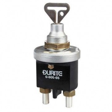Durite - Battery Switch 250 amp with Removable Key Bg1 - 0-605-65