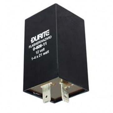 Durite - Flasher/Hazard Unit 1-4 x 21 watt 12 volt Cd1 - 0-606-11