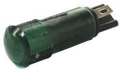 Durite - Warning Light Green 12 volt Cd1 - 0-609-24
