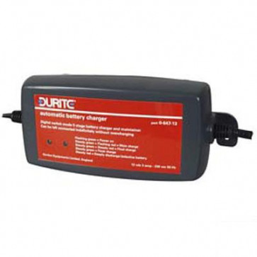 Durite - Battery Charger/Maintainer Automatic 12 volt 3 amp Cd1 - 0-647-13