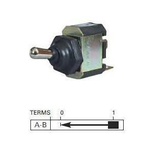 Durite - Switch Flick Momentary On Splashproof Metal Dolly Bg1 - 0-687-50