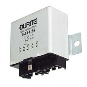 Durite - Flasher/Hazard Unit 1-8 x 21 watt 12-24 volt Cd1 - 0-744-34