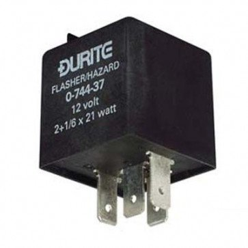 Durite - Flasher/Hazard Unit 2+1/6 x 21 watt 12 volt Cd1 - 0-744-37