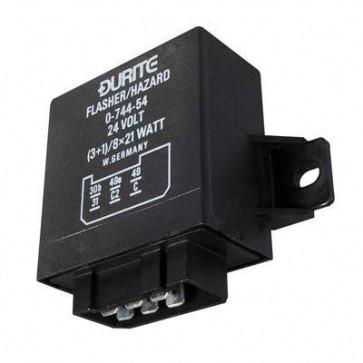 Durite - Flasher/Hazard Unit 3+1/8 x 21 watt 24 volt Cd1 - 0-744-54