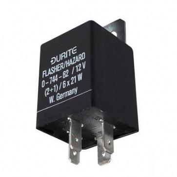 Durite - Flasher/Hazard Unit 2+1/6 x 21 watt 12 volt Cd1 - 0-744-62