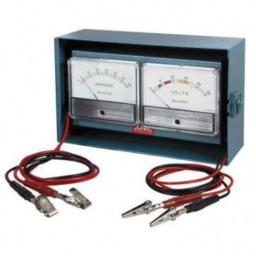 Durite - Tester Voltmeter 0-50 Ammeter 10-0-100 Bx1 - 0-799-50