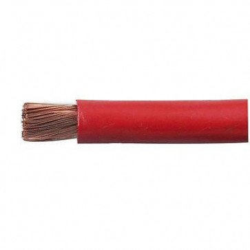 Durite 0-981-15 Cable Starter Flexible 196/0.40mm Red PVC 1M